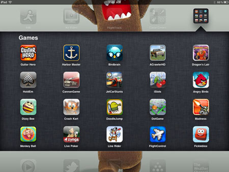how to delete games on ipad