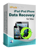 recuperación de datos ipubsoft ipad iphone ipod para mac
