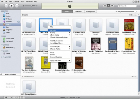 transfer books to ipad via itunes