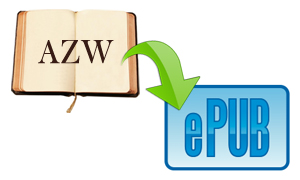 How to Convert Amazon AZW to ePub for Free | iPubsoft