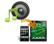 transfer audio files to devices