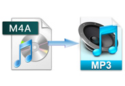 m4a to mp3 conversion
