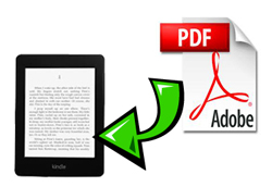 transfer pdf to kindle