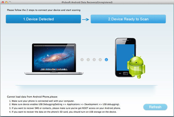 Recover Android Files on Mac