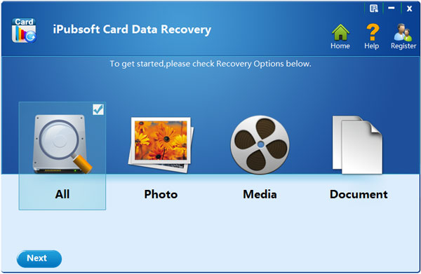 Windows 7 iPubsoft Card Data Recovery 1.4.9 full