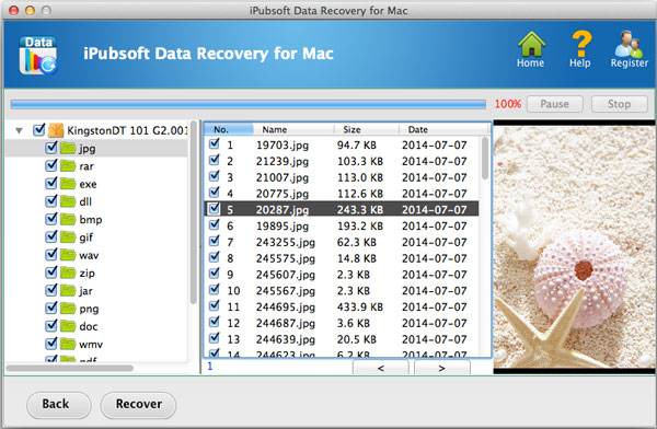 start recovery on mac
