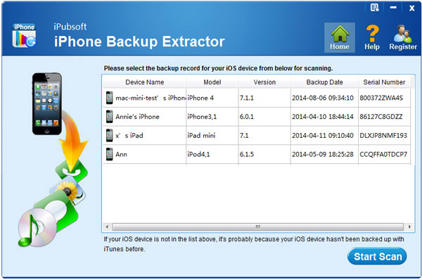 How to Recover iPhone Text Messages from iTunes Backup for