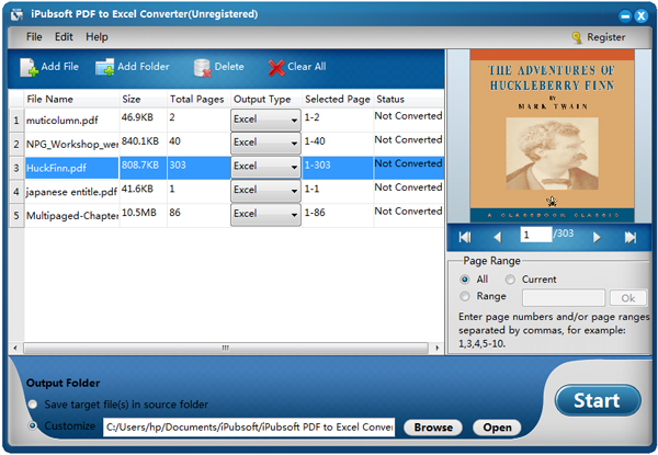 iPubsoft PDF to Excel Converter: Convert PDF to Editable Excel ...