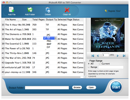 pdf to tiff converter for mac screenshot