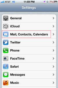 sync iphone to google contacts