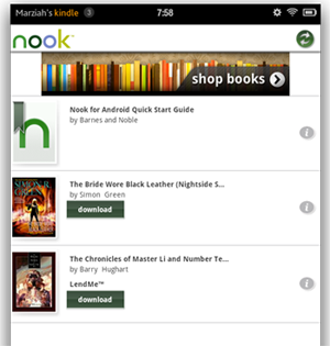 nook app on kindle fire