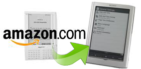 transfer books from kindle to sony reader