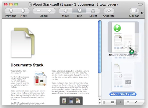 merge pdf documents on mac with preview