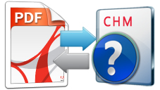 file conversion between pdf and chm