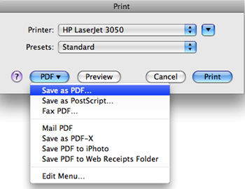 convert word to pdf on mac os x