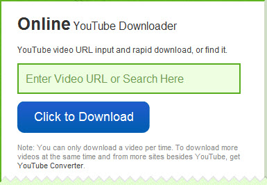 youtube video online downloader