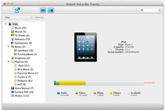 iPubsoft iPad to Mac Transfer 2.1.9 full